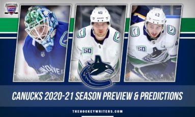 Vancouver Canucks' 2020-21 Season Preview & Predictions