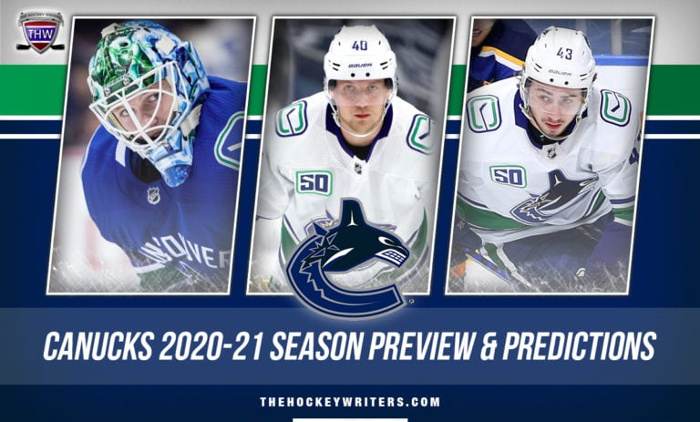 Vancouver Canucks 2020-21 Season Preview & Prediction Pettersson, Hughes and Demko