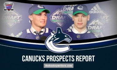 Canucks Prospects Report: Podkolzin, Hoglander & More
