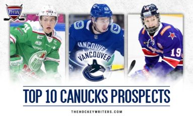 Vancouver Canucks' Top 10 Prospects