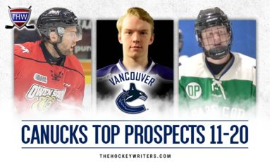 Vancouver Canucks' Top Prospects #11-20