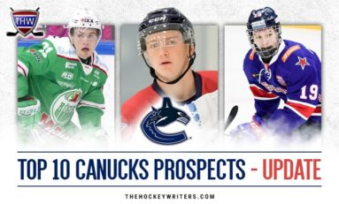 Canucks' Top 10 Prospects Midseason Update