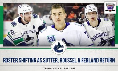 Canucks Roster Shifting as Sutter, Roussel & Ferland Return