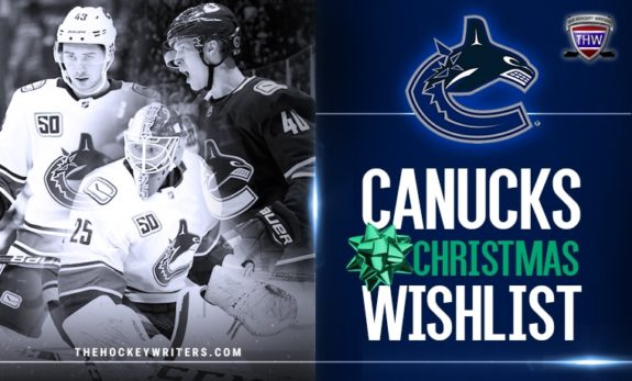Vancouver Canucks Christmas Wishlist