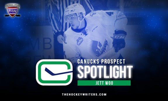 Vancouver Canucks Prospect Spotlight Jet Woo