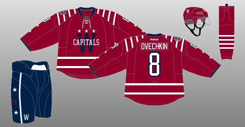 Washington Capitals 2015 Winter Classic uniform