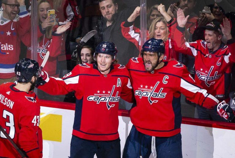Washington Capitals Alex Ovechkin Nicklas Backstrom