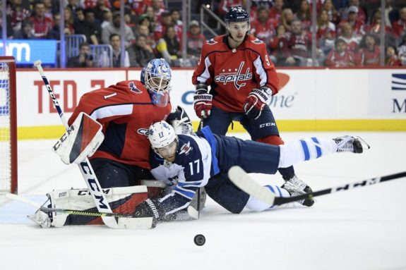 Winnipeg Jets Adam Lowry Washington Capitals Pheonix Copley