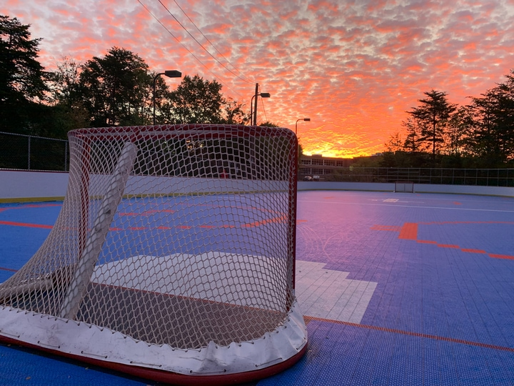 Washington Capitals ball hockey