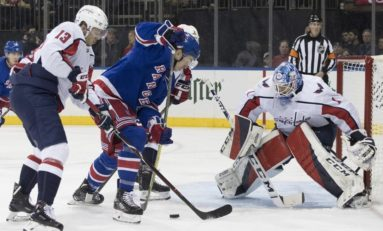 Capitals Beat Rangers With Late Connolly Goal