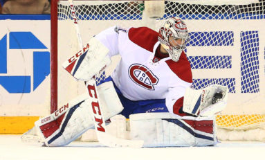 Canadiens Goalie Price Ties Roy in Number Only