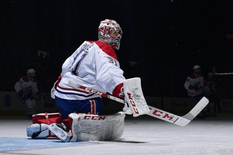 Goaltender Carey Price
