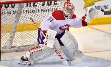 Price Earns Shutout With 31 Saves, Canadiens Snap Flames' Win Streak