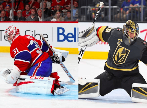 Carey Price and Marc-Andre Fleury
