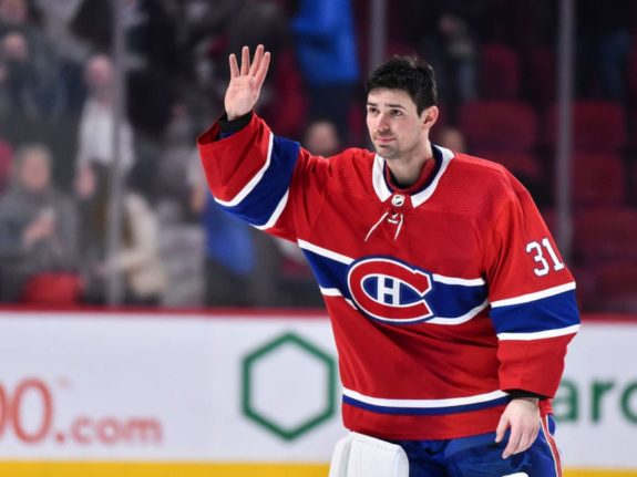 Goaltender Carey Price