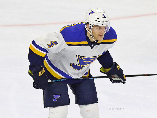 Carl Gunnarsson, St. Louis Blues