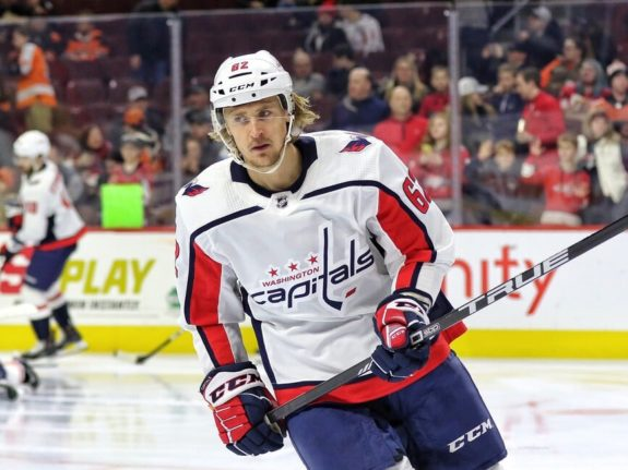 Carl Hagelin Washington Capitals