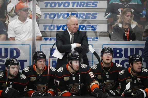 Anaheim Ducks Randy Carlyle