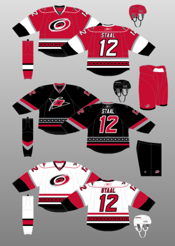 premium selection 56a7c 0a441 carolina hurricanes jersey change