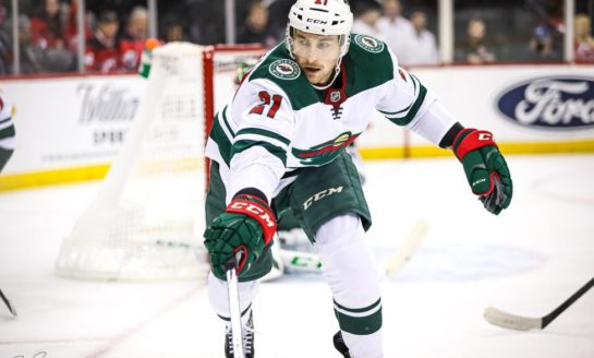 Wild's Soucy & Sturm Look Comfortable Filling Roster Gaps