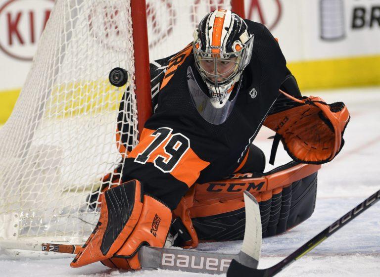 Philadelphia Flyers Carter Hart