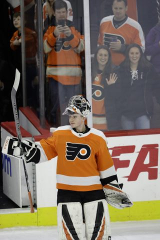 Philadelphia Flyers' Carter Hart