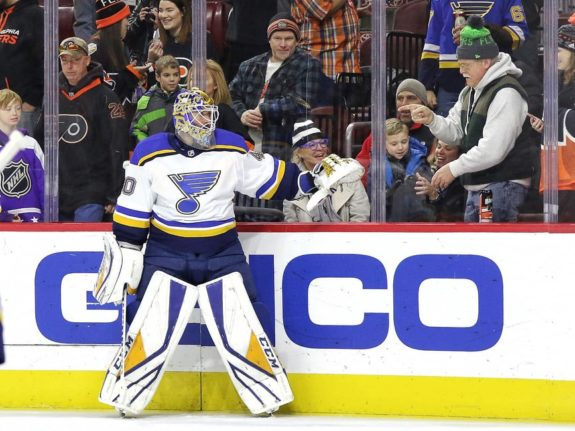 Carter Hutton St. Louis Blues