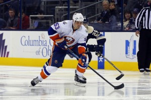 Casey Cizikas' injury hurts the Islanders on more than a few fronts. (Russell LaBounty-USA TODAY Sports)