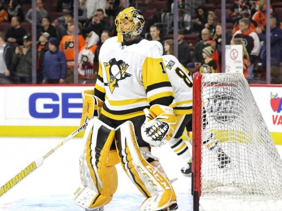 Casey DeSmith Pittsburgh Penguins goaltender