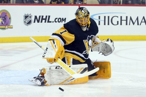 Penguins goaltender Casey DeSmith