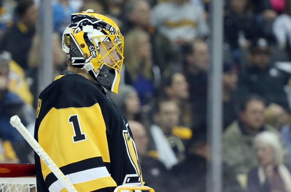 Pittsburgh Penguins goaltender Casey DeSmith