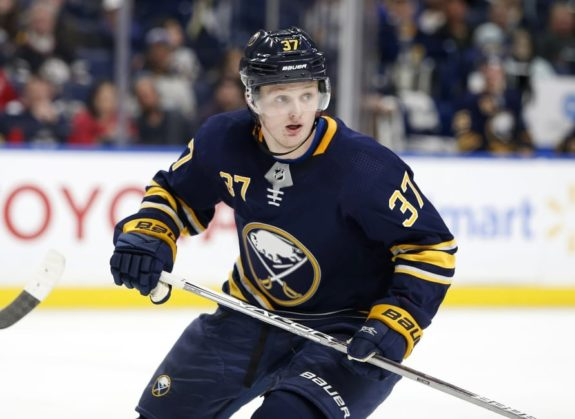 Buffalo Sabres center Casey Mittelstadt