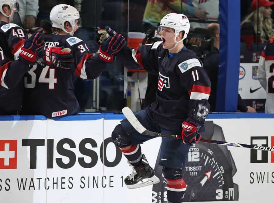 02a0fb8019a Buffalo Sabres Prospects Still Vying for Gold at 2018 WJC