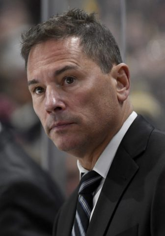 Boston Bruins' head coach Bruce Cassidy