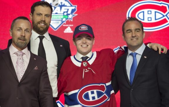 Montreal Canadians Cole Caufield NHL draft