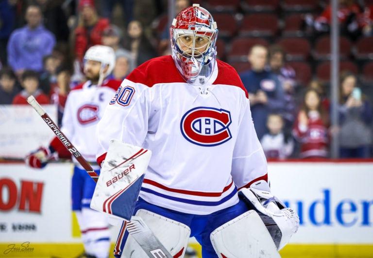 Cayden Primeau Montreal Canadiens