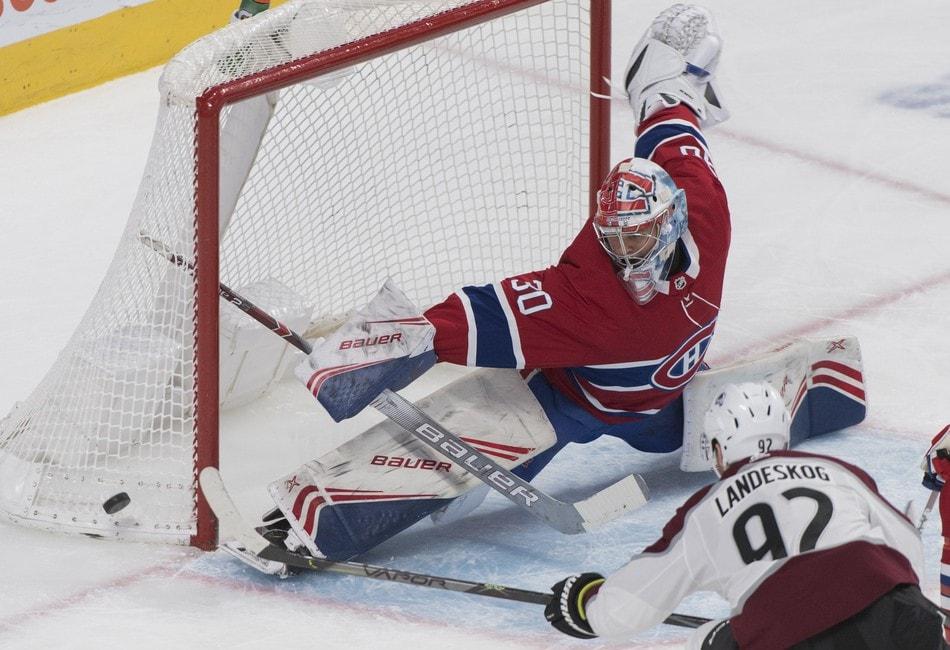 Cayden Primeau Canadiens CP.
