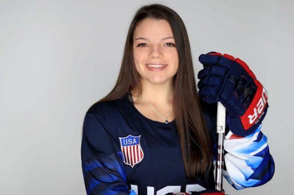 Cayla Barnes Team USA