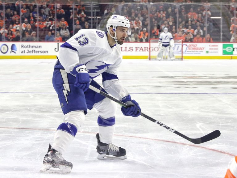 Cedric Paquette Tampa Bay Lightning