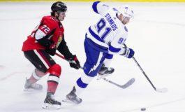 Lightning Down Senators for 60th win of the Season