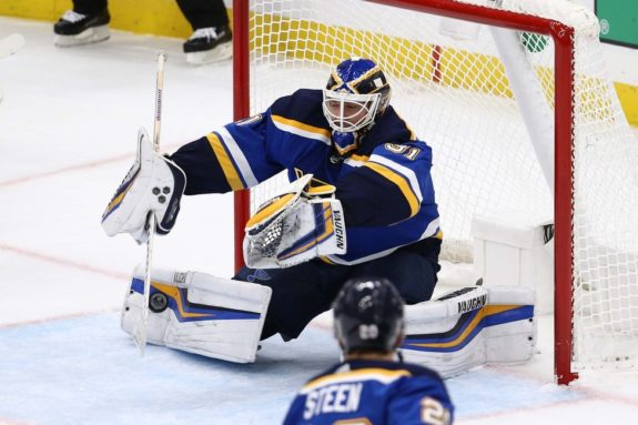 Chad Johnson St. Louis Blues