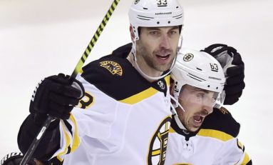 Chara Scores Go-Ahead Goal as Bruins Top Senators