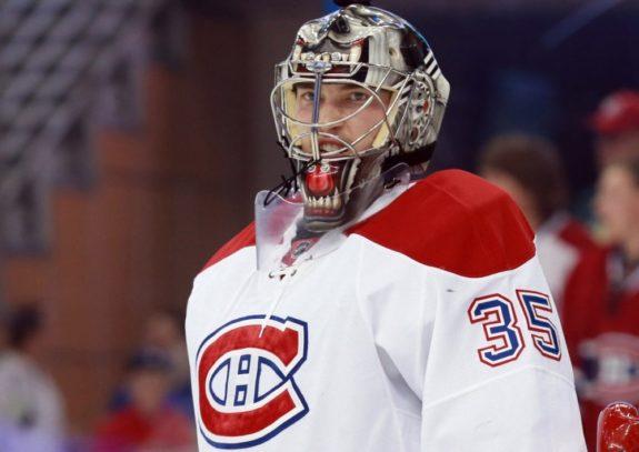 Montreal Canadiens goaltenderCharlie Lindgren