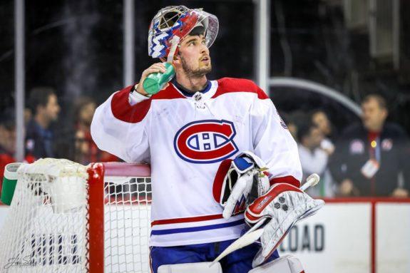 Charlie Lindgren Montreal Canadiens