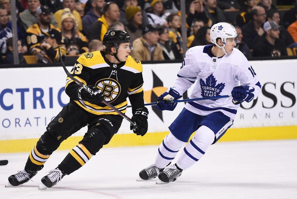 Charlie McAvoy, Boston Bruins, Mitchell Marner, Toronto Maple Leafs