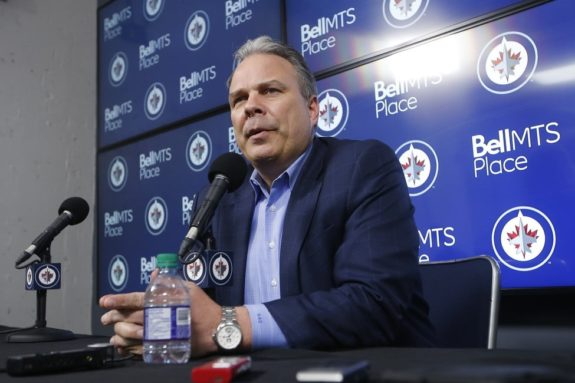 Winnipeg Jets Executive Vice President and General Manager Kevin Cheveldayoff