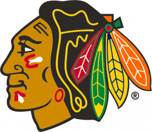 Chicago Blackhawks logo.