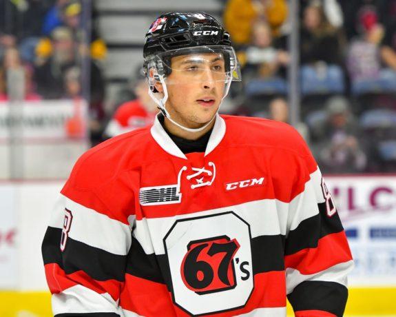 Sasha Chmelevski Ottawa 67's