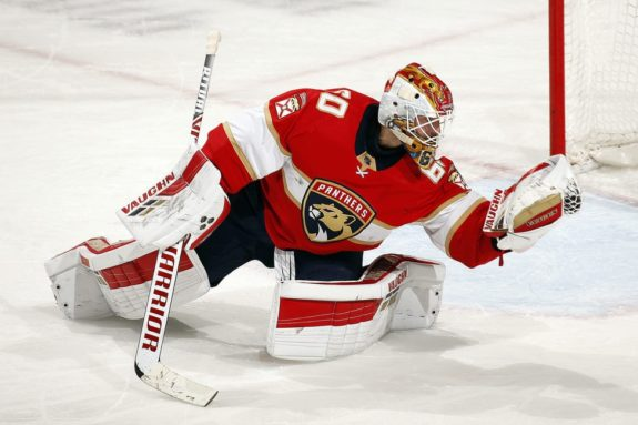 Chris Driedger Florida Panthers