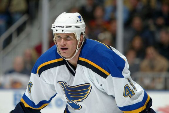 Chris Pronger St. Louis Blues
